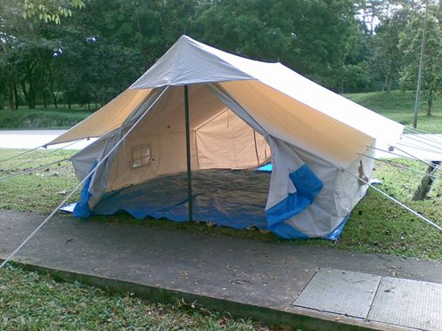 Relief Tents & Family relief tent 4 x 4 m - WRG